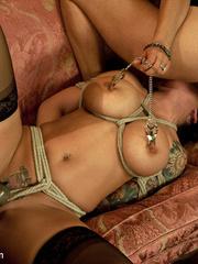 Underground sex slave in tight stockings in - Unique Bondage - Pic 6