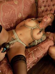 Underground sex slave in tight stockings in - Unique Bondage - Pic 7