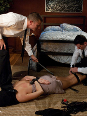 Caught masturbating office babe gets tied up - Unique Bondage - Pic 4