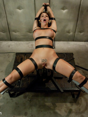Caught masturbating office babe gets tied up - Unique Bondage - Pic 9