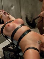 Caught masturbating office babe gets tied up - Unique Bondage - Pic 10