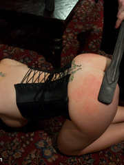 Tied up enslaved blonde can't escape erotic - Unique Bondage - Pic 3
