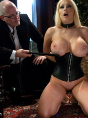 Tied up enslaved blonde can't escape erotic - Unique Bondage - Pic 4