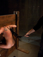 Restarined blonde young slave completely - Unique Bondage - Pic 6