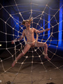 Caught as fly in web helpless slave babe - Picture 12
