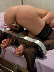 Sexy restrained nurse is enthusiastic about - Unique Bondage - Pic 9