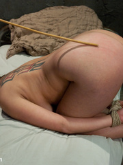 Real busty bound milf gets her tight butt - Unique Bondage - Pic 8