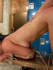 Captured in the shower blonde cutie get her - Unique Bondage - Pic 7