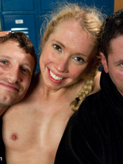 Captured in the shower blonde cutie get her - Unique Bondage - Pic 15