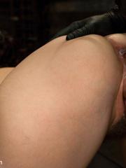 Petite dark haired slave hottie thoroughly - Unique Bondage - Pic 8