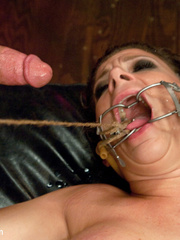 Super busty enslaved milf enjoys pain play - Unique Bondage - Pic 14