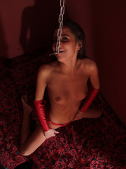 Resatrained captured young hottie sucking - Unique Bondage - Pic 4