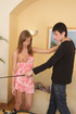 Delicious captured teen gets leashed, used up and sexually punished.