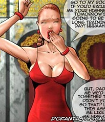 Slave girl comics. What would become of the girl with huge tits and revealing clothes in Turkey ..