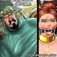 Humiliation comics. A slave.. prepare her.. yore sold to al-najep slave happy? Hahaha!