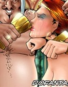 Fetish cartoons. Shit what kind of a sick cunt drinks her own milk? You