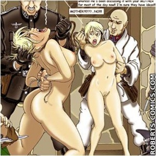 Bondage toons. A pair of rough men, - BDSM Art Collection - Pic 3