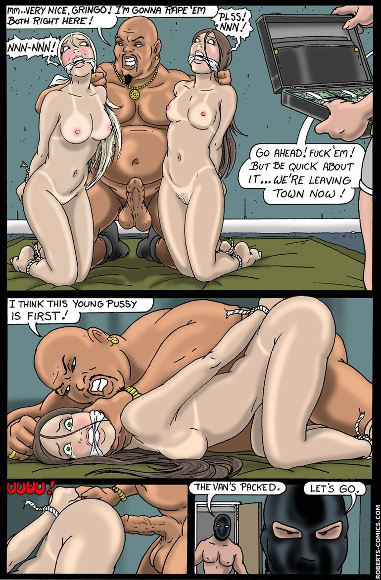 Bondage comics. Meet your new master! - BDSM Art Collection - Pic 1