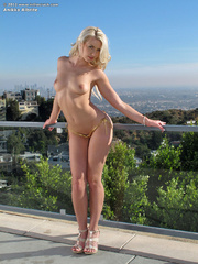 Erotic blonde in tight bikini - Sexy Women in Lingerie - Picture 4