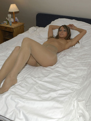 Perfect booty Melissa on her bed in - Sexy Women in Lingerie - Picture 4