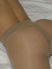Perfect booty Melissa on her bed in - Sexy Women in Lingerie - Picture 9