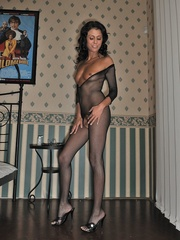 Mature woman Claudia in crotchless - Sexy Women in Lingerie - Picture 10