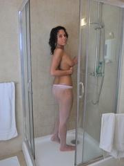 19 yo perfect body Melanie loves - Sexy Women in Lingerie - Picture 3