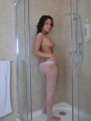 19 yo perfect body Melanie loves - Sexy Women in Lingerie - Picture 5