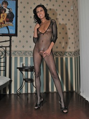 Mature woman Claudia in crotchless - Sexy Women in Lingerie - Picture 4