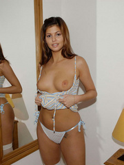 Lusty Domimika can't stand her - Sexy Women in Lingerie - Picture 13