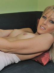 Blonde Sophie Moone wearing sexy - Sexy Women in Lingerie - Picture 9