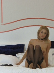 Sexy dressed busty Carina wears her - Sexy Women in Lingerie - Picture 12