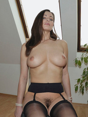 Adorable bid boobed Kyla wears sexy - Sexy Women in Lingerie - Picture 15
