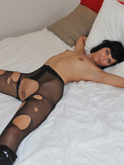 Small tits Efrona feels so naughty - Sexy Women in Lingerie - Picture 10