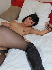 Small tits Efrona feels so naughty - Sexy Women in Lingerie - Picture 12