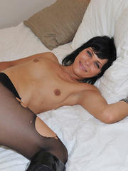 Small tits Efrona feels so naughty - Sexy Women in Lingerie - Picture 15