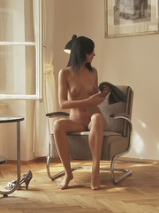 Stunning young babe Anastasija is - Sexy Women in Lingerie - Picture 5