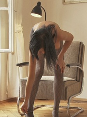 Stunning young babe Anastasija is - Sexy Women in Lingerie - Picture 9