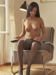 Stunning young babe Anastasija is - Sexy Women in Lingerie - Picture 10