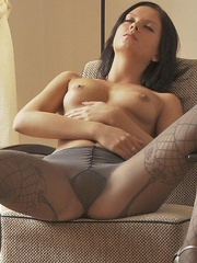 Stunning young babe Anastasija is - Sexy Women in Lingerie - Picture 13