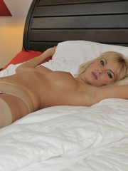 Bianca is a girl with long legs. - Sexy Women in Lingerie - Picture 7