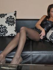 Bianca is a girl with long legs. - Sexy Women in Lingerie - Picture 10
