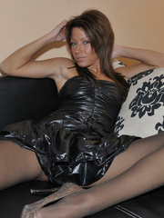 Bianca is a girl with long legs. - Sexy Women in Lingerie - Picture 11