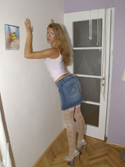 Jennifer is a tall slim girl that - Sexy Women in Lingerie - Picture 3