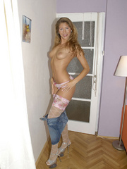 Jennifer is a tall slim girl that - Sexy Women in Lingerie - Picture 9