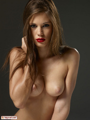 Caprice's lips are full and - Sexy Women in Lingerie - Picture 15