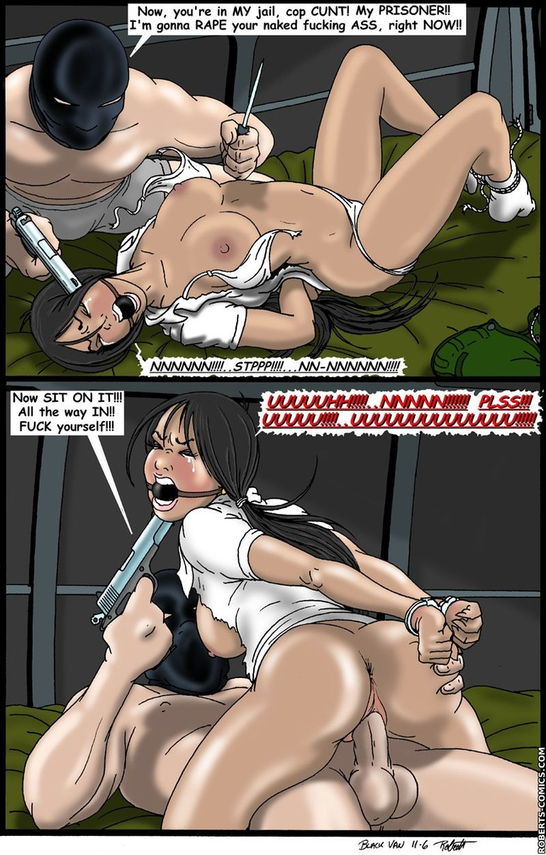 Horror comics. Stuff this cunt in the - BDSM Art Collection - Pic 2