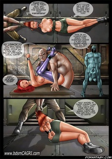 Bdsm comics. Pray slave! It Tuco doesn't like you, you'll find yourself in a dirty brothel!