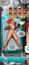Bondage comics. I'm cumming slave! Do you feel my warm load?