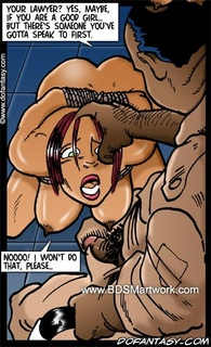 Bdsm comics. Your lawyer? Yes maybe, but there is someone you've gotta speak first, slave!